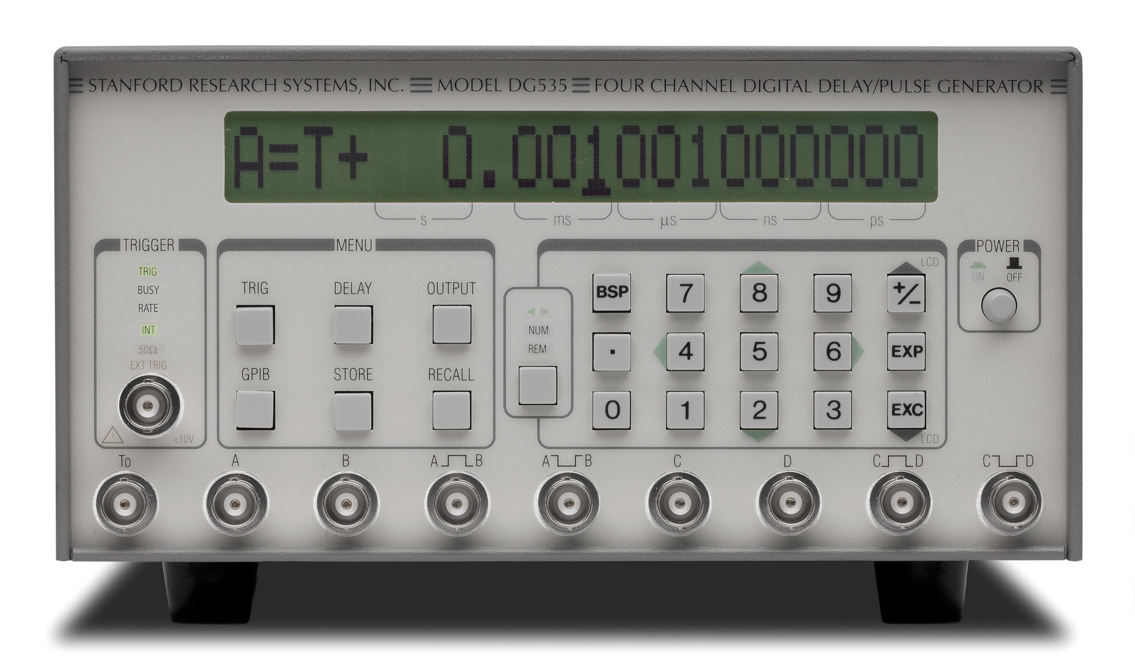 Digital Delay/Pulse Generator - DG535