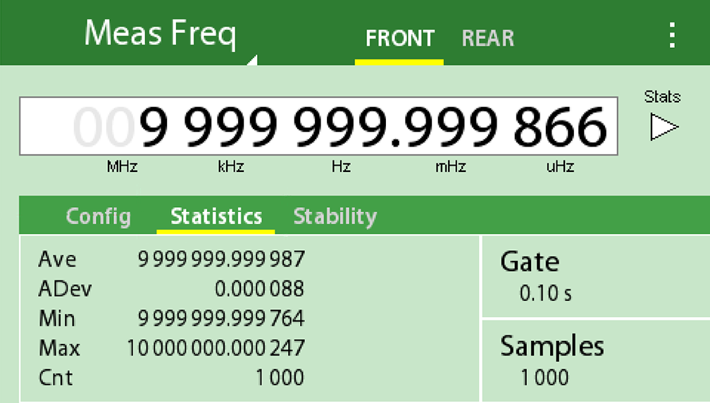 GPS 10 MHz Frequency Reference - FS740