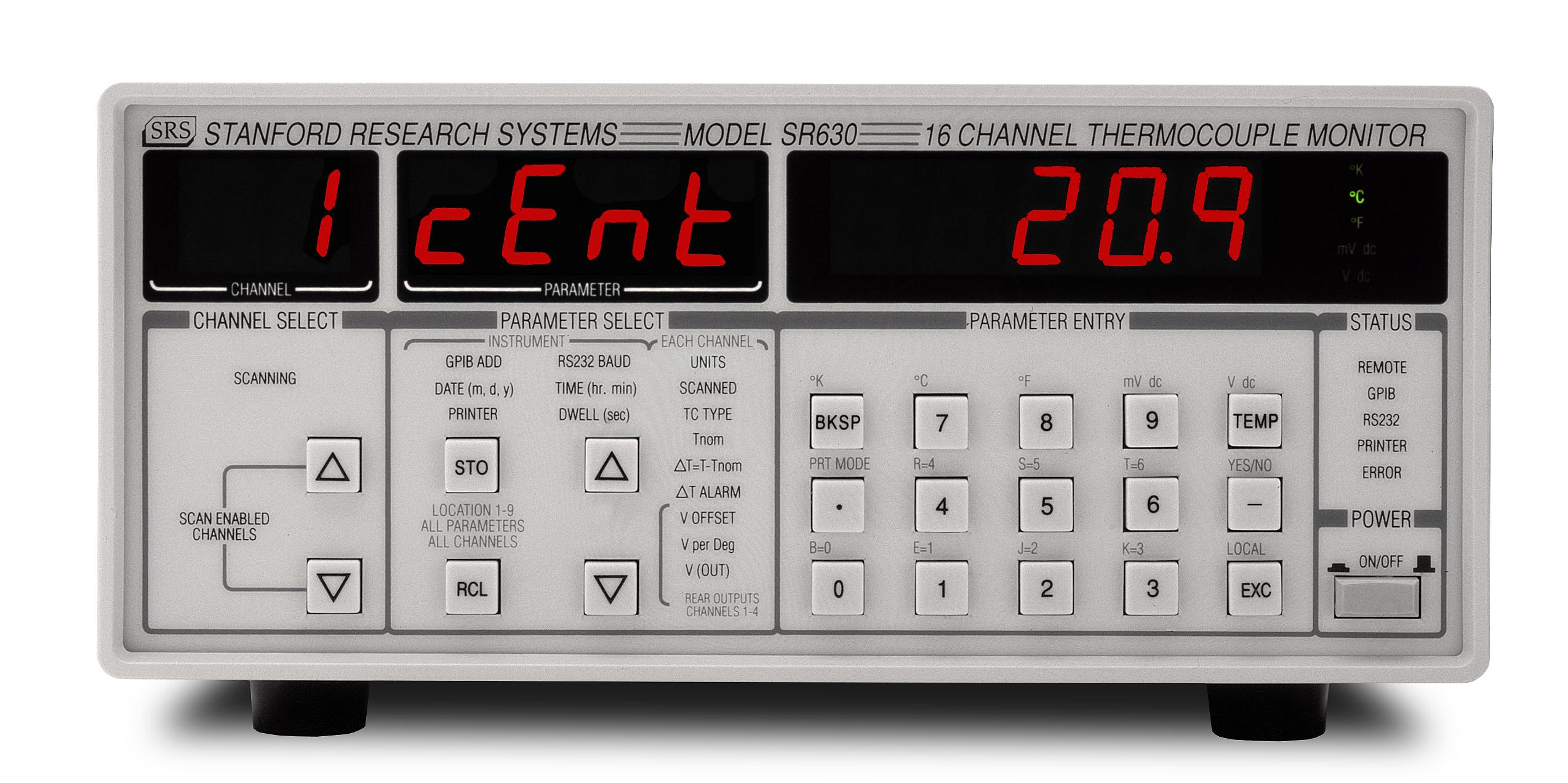 SR630 - Thermocouple Monitor